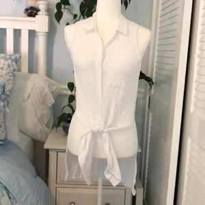 Dalia white blouse